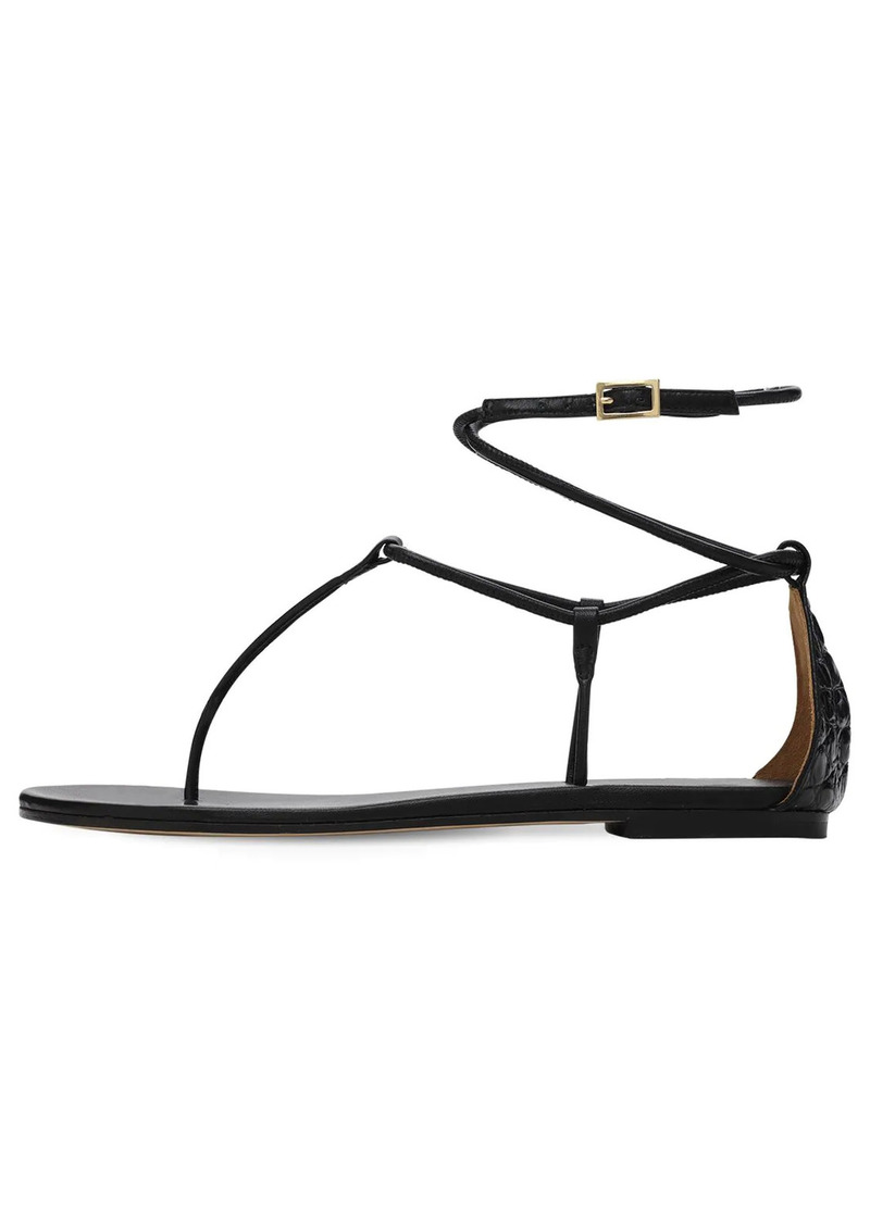 Paris Texas 10mm Jacky Leather Thong Sandals