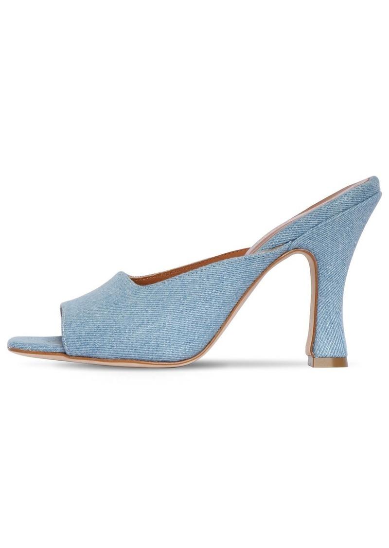 Paris Texas 90mm Denim Mule Sandals