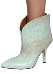 Paris Texas 90mm Iridescent Embossed Leather Boots