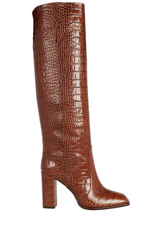 Paris Texas Moc Croco Knee-High Boots