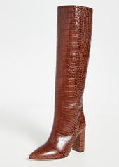 Paris Texas 100mm Moc Croco Boots