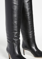 Paris Texas 60mm Seamed Tall Stiletto Heel Boots