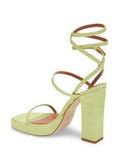Paris Texas Bianca Ankle Strap Platform Sandal (Women)