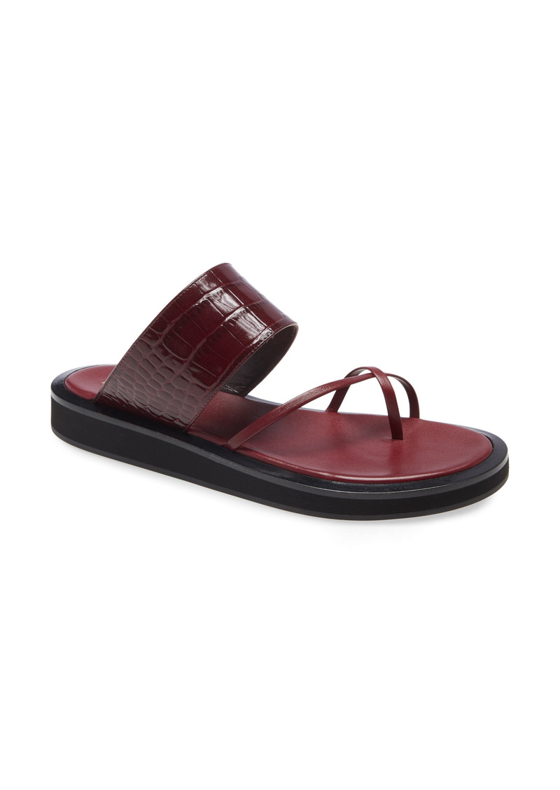 Paris Texas Brooklyn Toe Loop Sandal (Women)