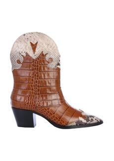 Paris Texas Crocodile Print Boot
