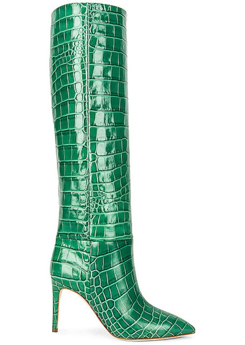Paris Texas Embossed Croco 85 Stiletto Boot