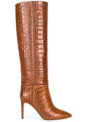 Paris Texas Embossed Croco 85 Stiletto Boot