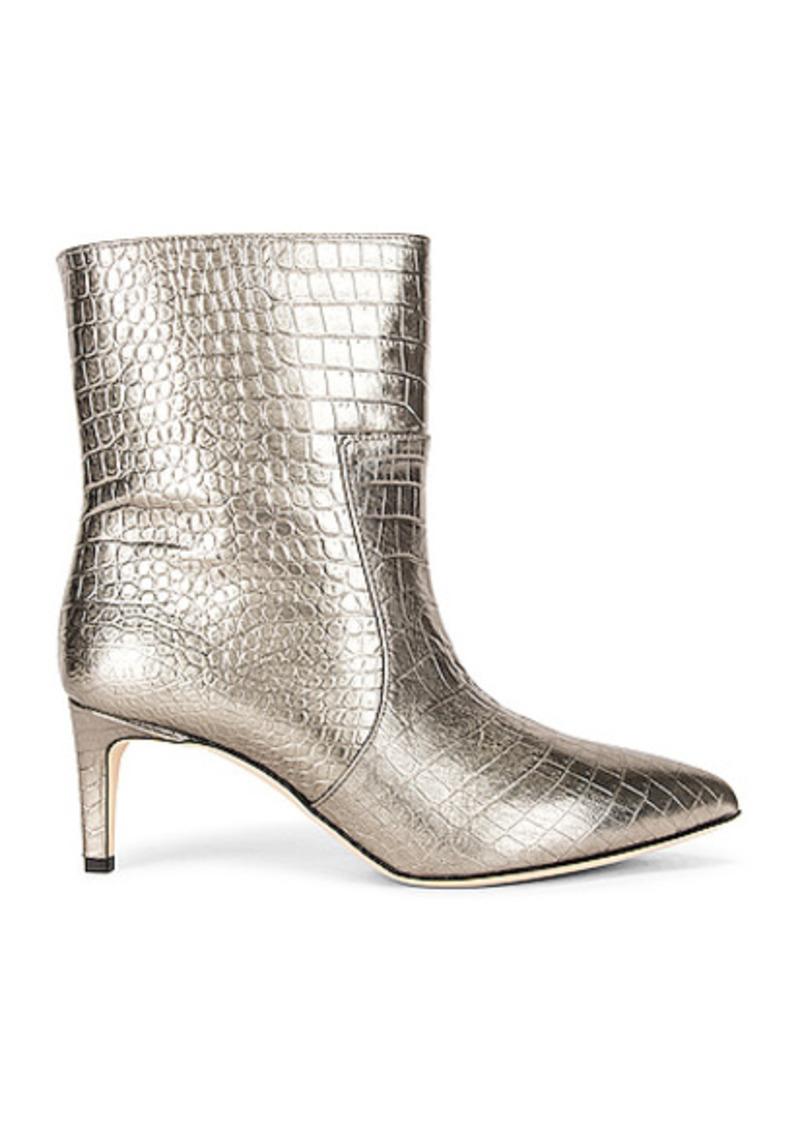 Paris Texas Metallic Croco 60 Ankle Boot
