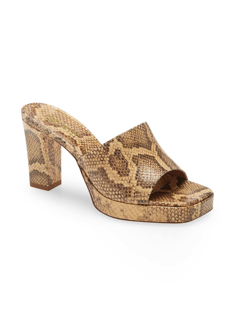 Paris Texas Milena Platform Sandal (Women)