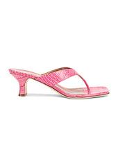 Paris Texas Moc Croco 45 Thong Sandal