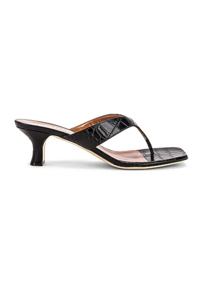 Paris Texas Moc Croco 45 Thong Sandal