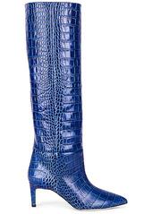 Paris Texas Moc Croco 60 Tall Stiletto Boot