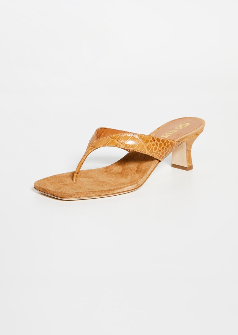 Paris Texas Portofino Thong Mules
