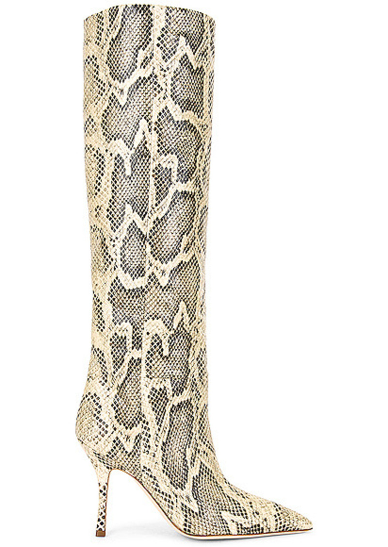 Paris Texas Printed Python Mama Boot