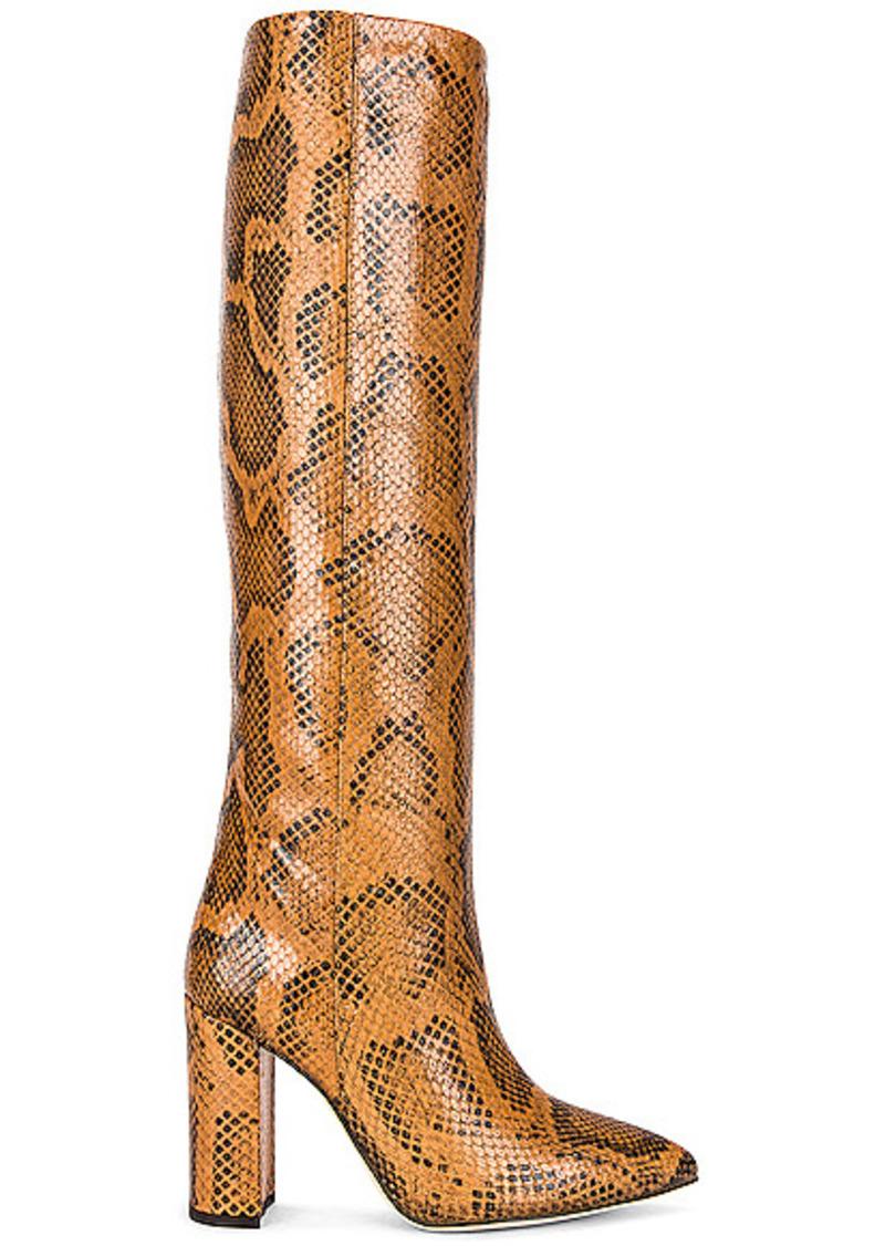 Paris Texas Python Print 100 Boot