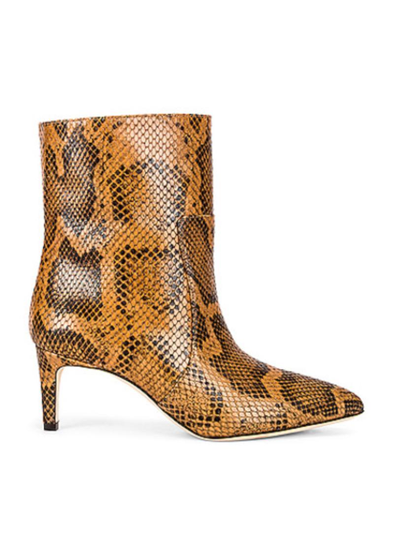 Paris Texas Python Print 60 Ankle Boot