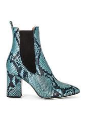 Paris Texas Python Print 80 Ankle Boot