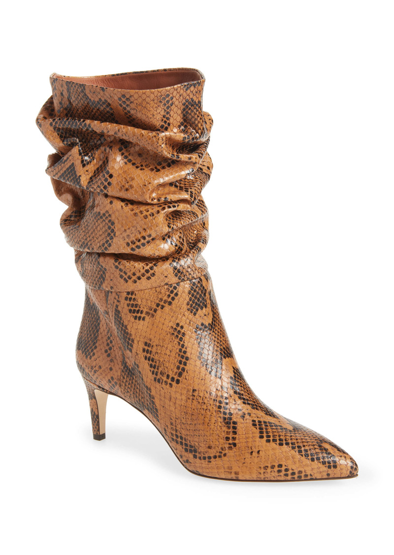 Paris Texas Slouchy Pointed Toe Boot (Women)