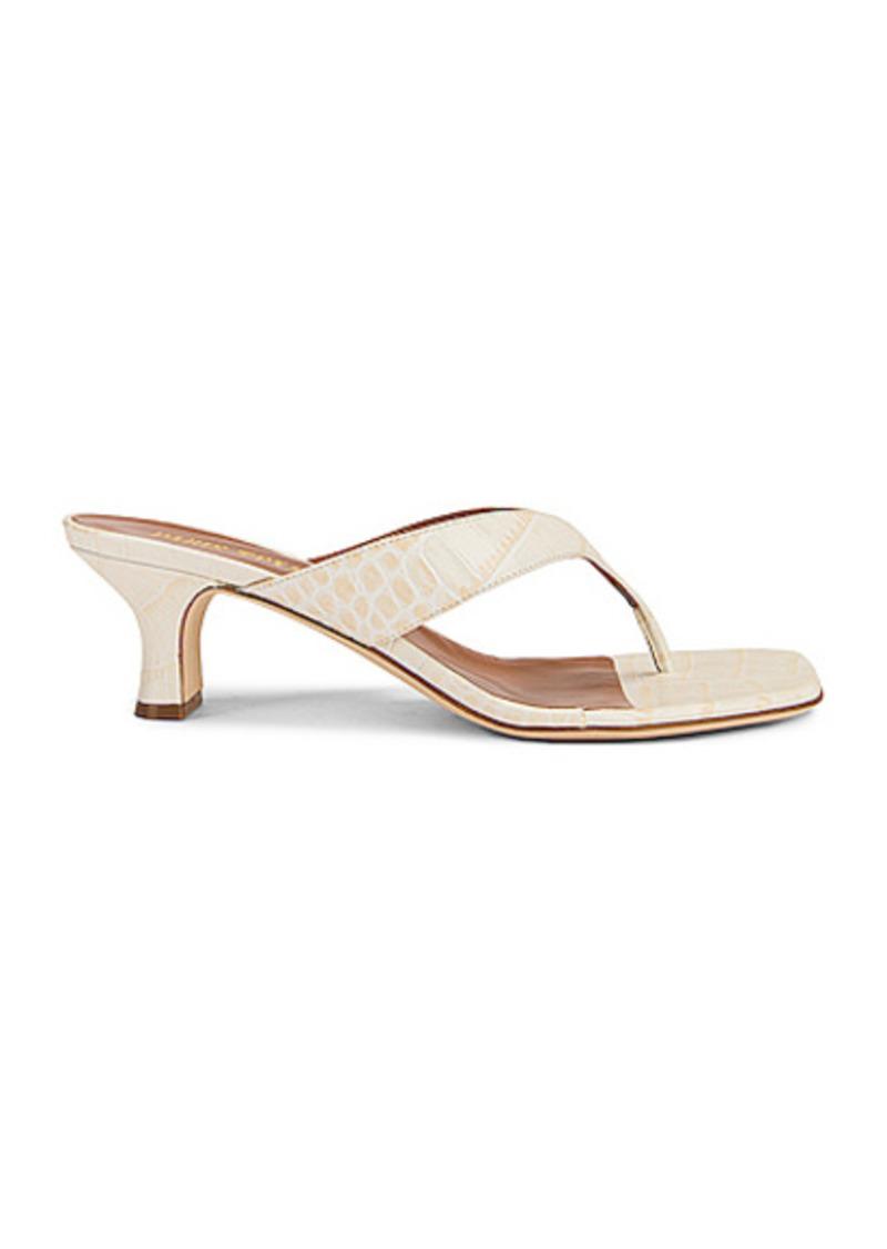 Paris Texas Soft Moc Croco 45 Thong Sandal