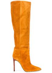 Paris Texas Velour Tall Stiletto Boot