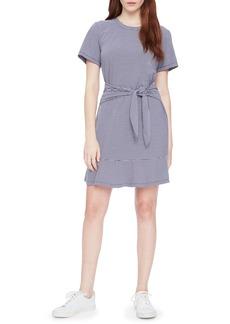 Parker Annika Stripe Stretch Cotton Minidress