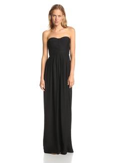 Parker Women's Bayou Silk Strapless Evening Maxi Gown