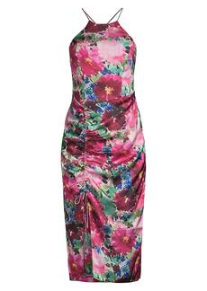 Parker Selena Floral Halter Dress