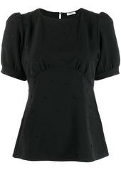 P.A.R.O.S.H. ball sleeve blouse