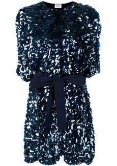 P.A.R.O.S.H. belted sequin coat