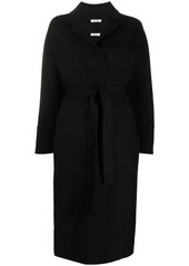 P.A.R.O.S.H. belted wool midi coat