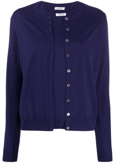 P.A.R.O.S.H. button-up round neck cardigan