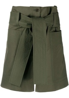 P.A.R.O.S.H. Canyon paperbag shorts