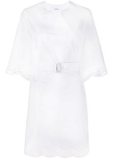 P.A.R.O.S.H. Cojourd scalloped hem dress