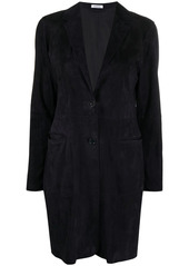 P.A.R.O.S.H. collared suede coat