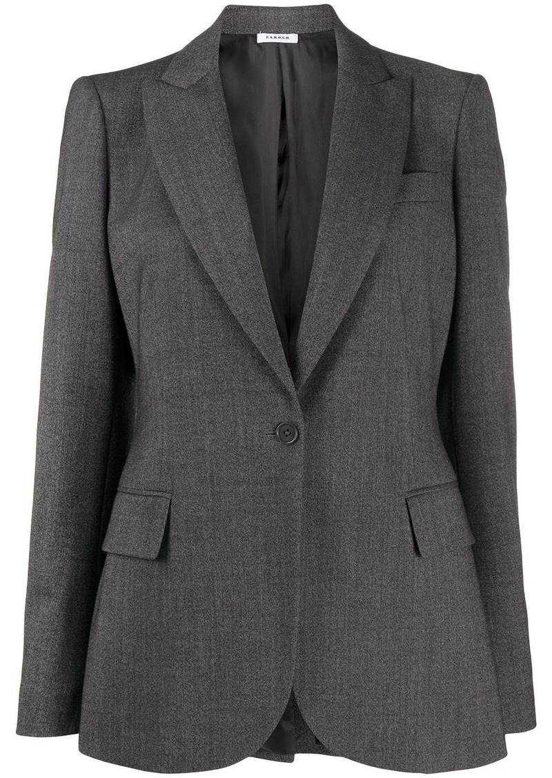 P.A.R.O.S.H. deep V-neck blazer