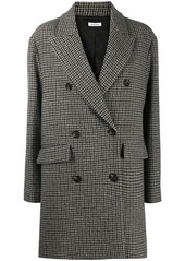 P.A.R.O.S.H. double breasted houndstooth jacket