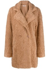 P.A.R.O.S.H. double-breasted shearling coat