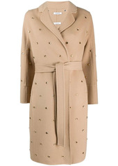 P.A.R.O.S.H. embellished trench coat