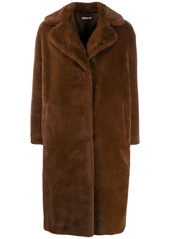 P.A.R.O.S.H. faux-fur double breasted coat