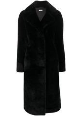 P.A.R.O.S.H. faux fur midi coat