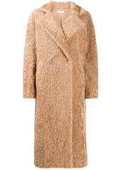 P.A.R.O.S.H. faux shearling double-breasted coat