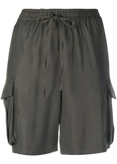 P.A.R.O.S.H. flap pocket shorts