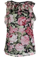 P.A.R.O.S.H. floral print blouse
