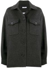 P.A.R.O.S.H. fringed felt jacket