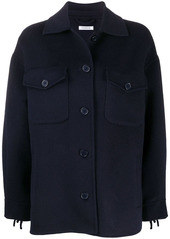 P.A.R.O.S.H. front button peacoat