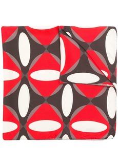 P.A.R.O.S.H. geometric print scarf