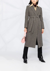 P.A.R.O.S.H. houndstooth wrap coat