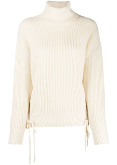 P.A.R.O.S.H. lace-up sides jumper