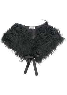 P.A.R.O.S.H. lamb fur shawl