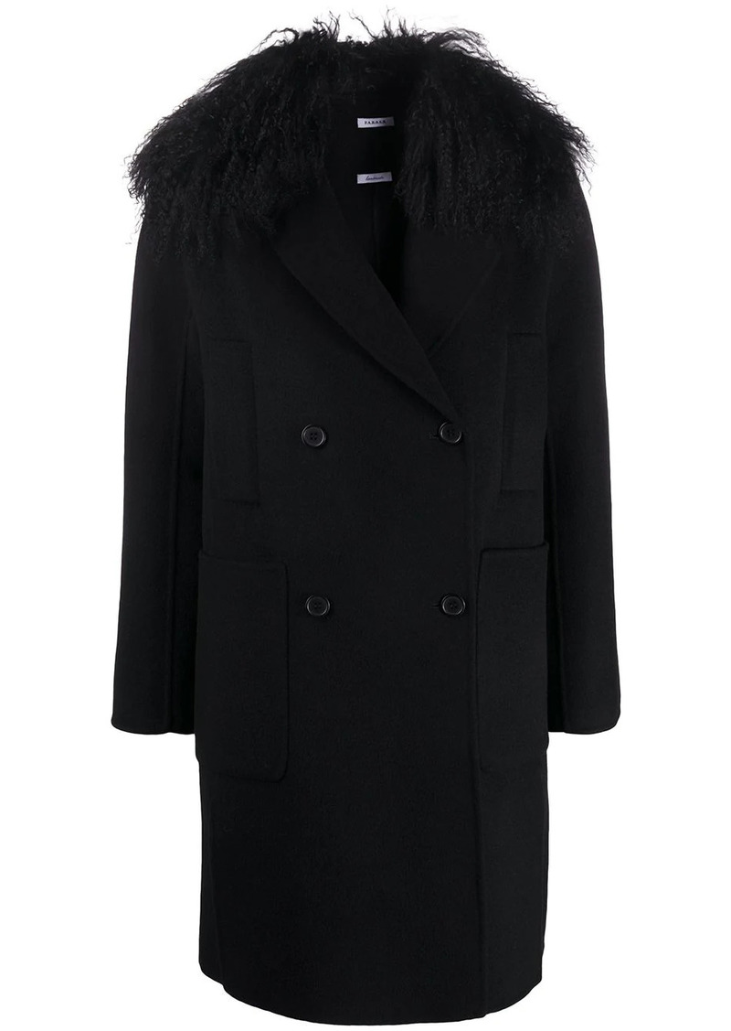 P.A.R.O.S.H. Leak double breasted coat